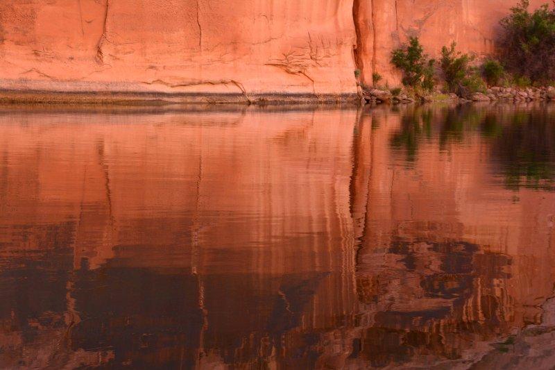 """Reflection, Colorado River"""