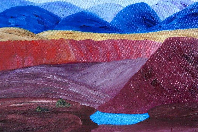 """Grand Canyon North Rim Arizona"", Oil, 16x20"
