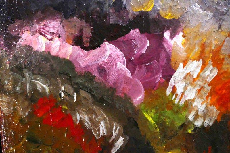 """Sunrise at the Grand Canyon"", Acrylic, 12x12"