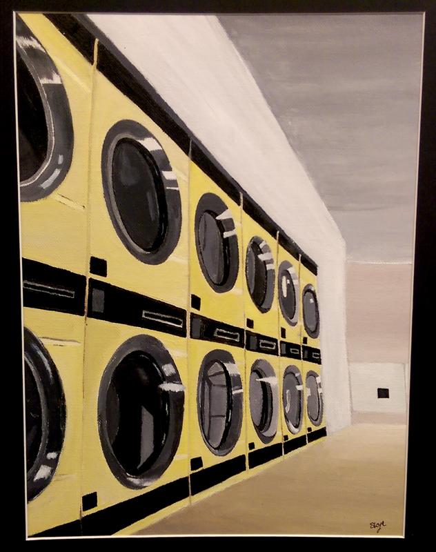 """Laundromat"" Acrylic by Skye Terry"