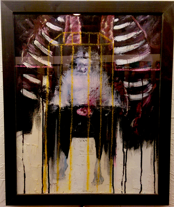 """""""Judgement"""", Mixed Media by Tim Myers"""