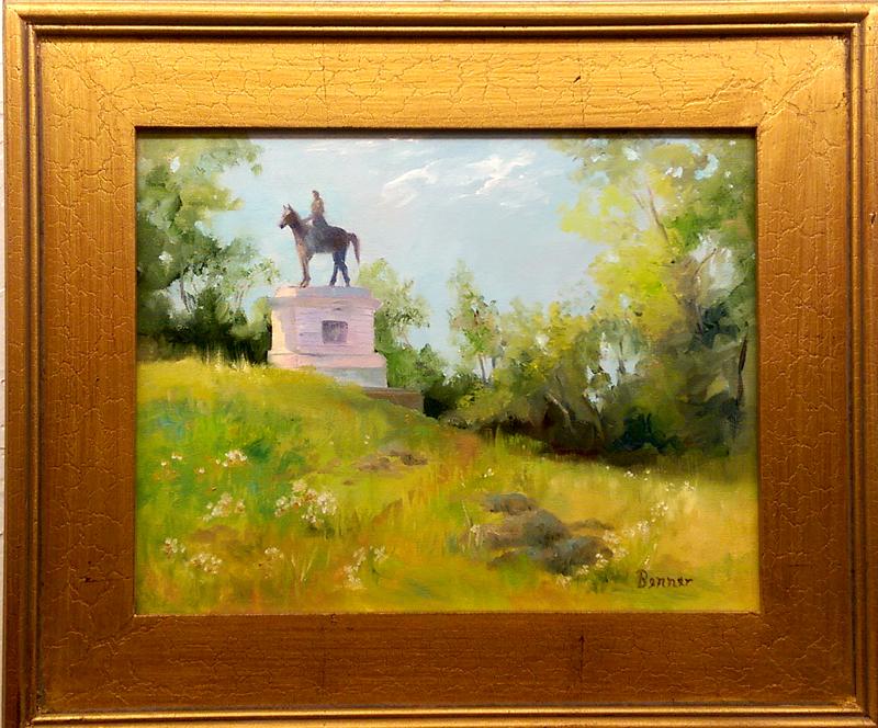 'Gettysburg' Oil by Sharon Benner