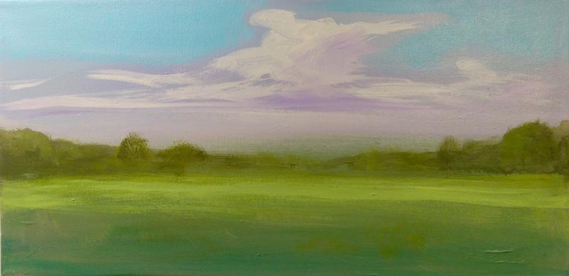 'Landscape' Acrylic by Kirby Heltebridle