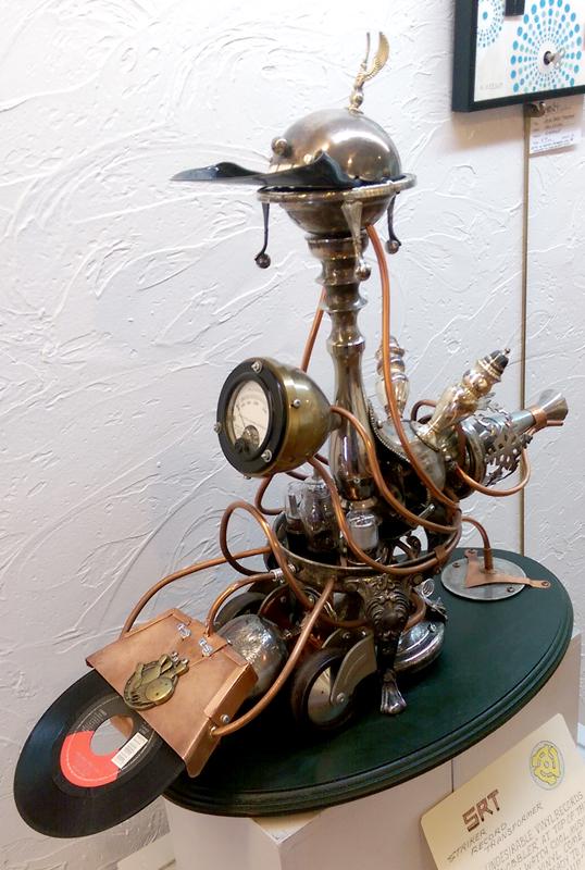'Striker-Record Transformer' by Kirby Heltebridle